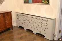 CASA Radiator Covers / Metal radiator covers with floaty curve appeal fit for any home