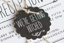 Chalkboard / Wedding and Party Inspiration / by Evermine