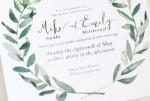 Save the date ideas / by Melissa Ninegar