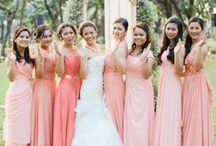 Ombre {Pink & Peach} / Ombre Wedding Inspiration and Ideas / by Evermine