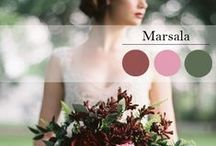 Marsala - 2015 Pantone Color Of The Year / Marsala Wedding Inspiration and Ideas / by Evermine