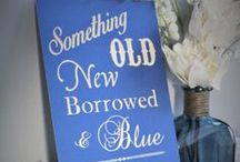 """Something Blue"" Bridal Shower / Something Old, Something New, Something Borrowed, Something Blue bridal shower theme ideas! / by Evermine"