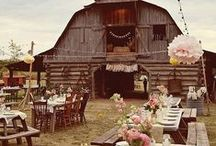 Farm Wedding / Farm weddings are simply stunning, capturing the essence of a farm… timeless design, tradition, family and nature!  / by Evermine