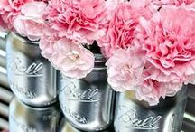 Mason Jar Wedding Ideas / Mason Jars continue to grow in popularity as wedding accessories! Browse through our Mason Jar Wedding Ideas board with everything from lighting to wedding favors to table centerpieces and more. Enjoy!  / by Evermine