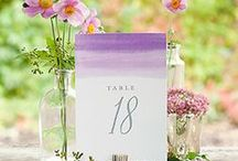 Watercolor / The watercolor wedding trend is everywhere! It's soft, dreamy, creative and downright romantic. / by Evermine