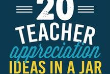 Teacher Appreciation / Teacher Appreciation Week this year is May 4th through May 8th. You can also give teacher appreciation gifts all year long, or at the end of the school year. Thank you to all you teachers out there for what you do! / by Evermine-personalized paper goods