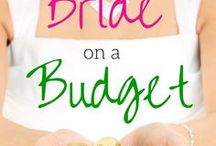 Budget Weddings / Weddings on a budget. Affordable wedding décor & accessories on a budget.