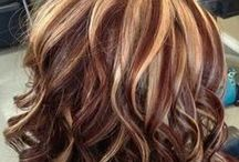 Beautiful Hair Do's / Hair styles I love & would like to try. Hair & different hair colors.