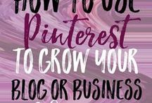 Pinterest Business Tips For Bloggers / Pinterest tips. Pinterest business tips. Pinterest tips for bloggers, blogs & businesses.