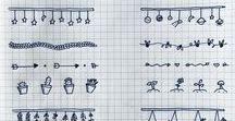 School & Notebooks / Będę zamieszczać tu pinty związane ze szkoła i ozdobami w zeszytach.