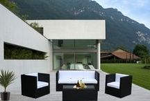 Black Outdoor Lounges