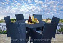 Black Outdoor Dining Furniture