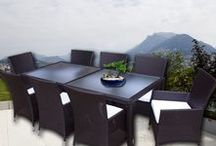 Brown Outdoor Dining Furniture