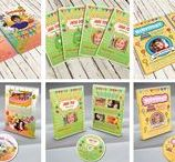 CD /  DVD Designs for Kids Parties