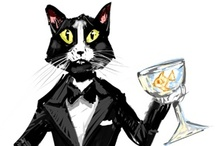 Cats / by Bsilvia Graphics-Illustrations