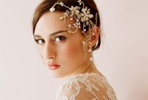 Good Hair for Brides / 'As long as I can remember, I've been obsessed with brides. Not weddings, not getting married, but the actual bride in all her over-the-top glory. On her wedding day, a woman has permission from society to look her most excessively beautiful.' ~ Deborah / by Pink West