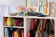 Wardrobe and Accessories Organizer Ideas / by Kellie Anne King