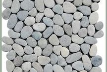Pebble Tile / An exciting assortment of exotic pebble tile.