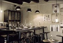 WORK - Bistro SicaPelle / Interior Design by Apricus. Style: Industrial mixed humour.