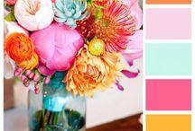 Wedding Color Ideas / by Erin Everett