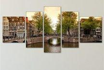 Şehir Teması / En sevdiğiniz şehir hangisi? Hayalinizdeki şehri evinize taşımanız için birbirinden zevkli ürünler...