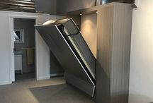 Modern murphy bed / A collection of modern style or modern color murphy beds