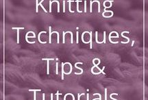 Knitting Techniques, Tips and Tutorials / Links to descriptions of knitting and finishing techniques, knitting tips, knitting design tips, tutorials, etc. Lots of useful, informative and educational things all about knitting, patterns and pattern design, and yarn.