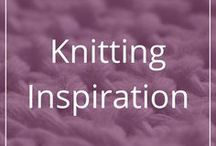 Knitting Inspiration / Just pretty knit projects to use as inspiration for new projects or designs.
