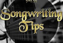 Songwriting Tips / Songwriting is an art form and to be the best songwriter that you can be, it needs to be practiced. Here you will find all of the essential songwriting tips.