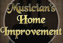 Home Improvement (for musicians) / Man Caves: An alpha's desired place of rest and creativity. (that's at least how we would describe it...) Here you will find plenty of Man Caves and Recording Studios, perfect for you creative-types. It's called Home Improvement for a reason!