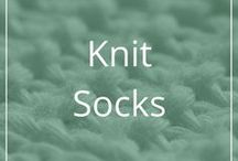 Knit Socks / Pretty or interesting sock patterns to knit. Some free, some not. Most of them are available on Ravelry.