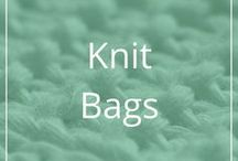 Knit Bags / Patterns for knit bags