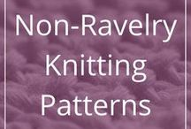 Non-Ravelry Knitting Patterns / Pretty knitting patterns that weren't available on Ravelry when I pinned them. Some free, some not, all of them pretty or interesting.