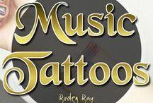 Music Tattoos / Music Tattoos. Skin art with ink. Musician Tattoos, small tattoos, big tattoos and sleeve tattoos