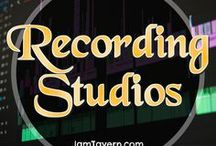 Recording Studios / Recording Studios. A Musician's / Producer's paradise. Here you will find plenty of ideas for your studio. Man or woman, young or old, you have to appreciate these studios!