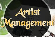 Artist Management / How to be an Artist Manager and everything you need to know when searching for one.