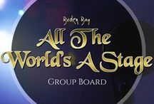 All The World's A Stage / The Performing Arts Group Board, USE THIS FOR FREE PROMOTION. For musicians, bands, artists. dancers, music lovers, promoters or music bloggers. ~ if you'd like to join the board, please email enquiries@budenbay.com with the name of the board and your pinterest profile link ~  Please keep the content suitable and if you would like to add other people, feel free. NO LIMIT TO PINS PER DAY!  Cheers & Enjoy!