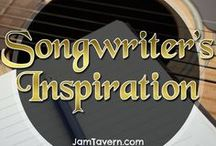 Songwriter's Inspiration / Inspirational & motivational music quotes, references & speeches. Musician tips, music tips, songwriter tips, songwriting tricks. Guitarists / Bassists / Drummers / Singers / Keyboard players / Synth players... etc
