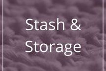 Stash & Storage / Need ideas for storing your stash? Here are some pretty pictures and cool ideas of how you can store (or possibly hide) your yarn.