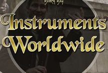 Instruments Worldwide / All of the beautiful musical instruments from around the world. Strings, Woodwind, Brass, Percussion... everything. Including the ancient instruments such as the Lyre and the Cithara.