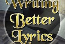 Writing Better Lyrics / The art of lyric writing is something that is often overlooked as a skill earned through studying key skills or English literature or language. It is most definitely a step up from that if you are to write meaningful, expressive, story-telling lyrics. This board should help to boost your lyrics in a more professional way