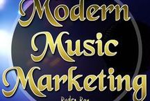 Modern Music Marketing / How to market your music in the modern music industry. Modern Music Marketing is a pin board, designed to help artists from around the globe in professionally marketing their music to suitable and relevant audiences.  Hint: Narrow down your genre & research the shit out of it!