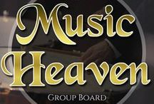 Music Heaven | Group Board / Here at Music Heaven, you may pin anything you like in relation to music. It could be Music videos, your favourite band's music, a Soundcloud profile, a bandcamp profile, your favourite instrument, a playlist... anything!  To join the board, please comment on any of the pins and anybody from the board can add you.   Alternatively, email enquiries@budenbay.com with a link to your profile and state the name of this group board.  Thank you! & happy pinning.