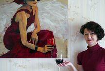 Мои работы - панно и картины на стекле / Мои работы - панно и картины для интерьера. Роспись по стеклу, фьюзинг.