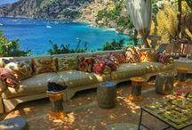 Balcony, Aegean, Views