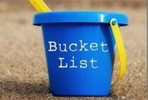 ♥ Bucket List ♥ / by Alicia Hamlett
