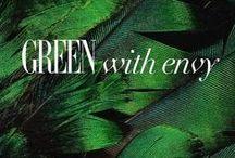 Green With Envy / by Alicia Hamlett