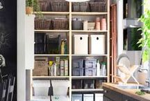 Nooks and Crannies / Maximize your small spaces.