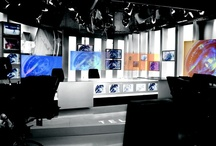 TV show Applications / DreamGlass® privacy glass can also be conveniently applied in television studios for either rear projection or privacy purposes.