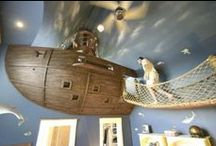 Kid's Rooms / Whimsical rooms for your little munchkins.
